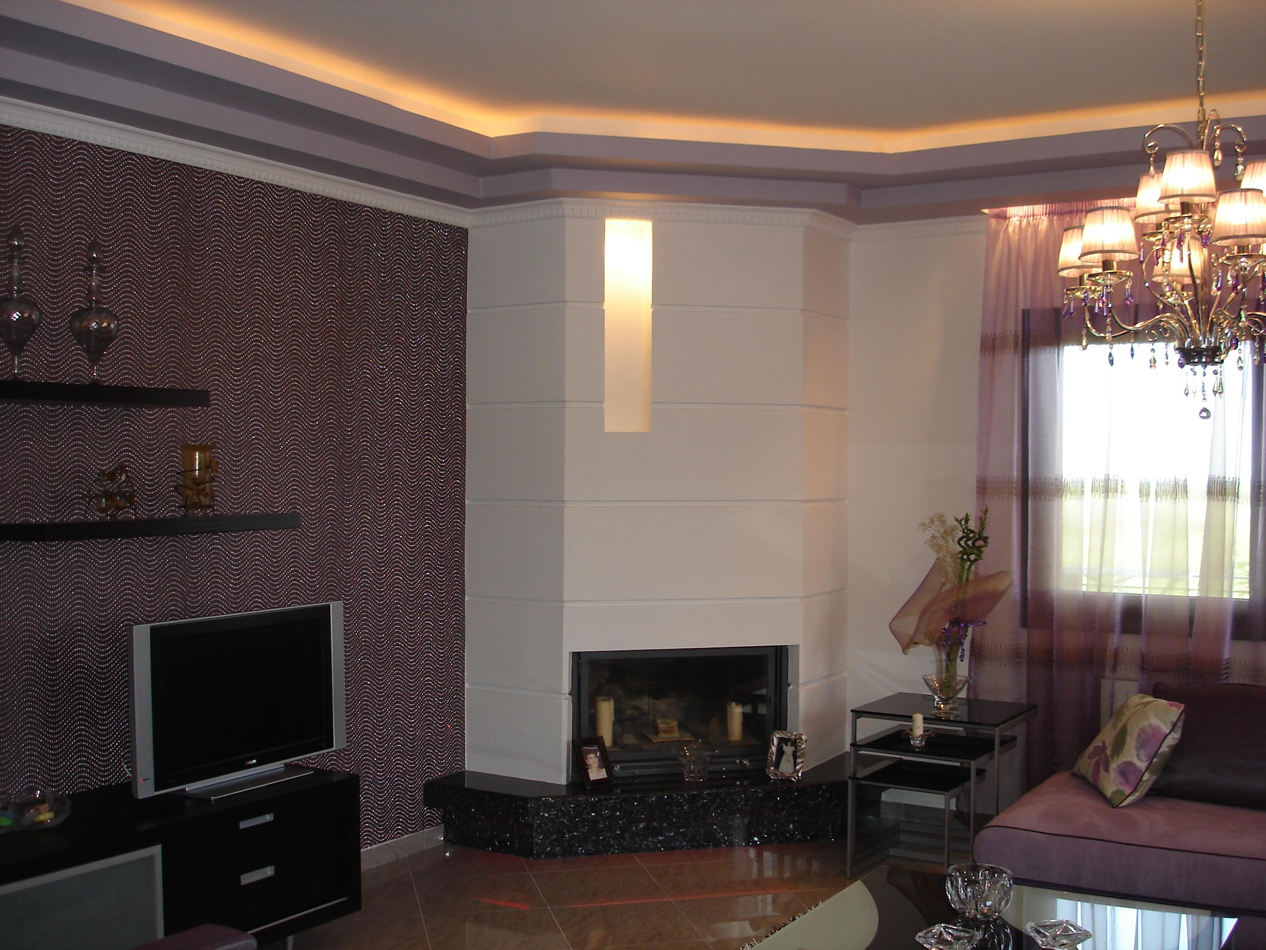 A flat interior in kopanos for Flat interior
